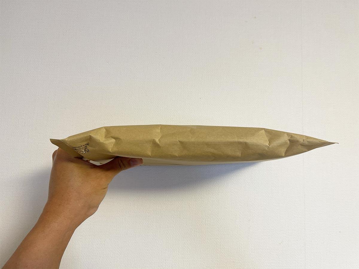 ヴィーダスムージーの梱包の厚み