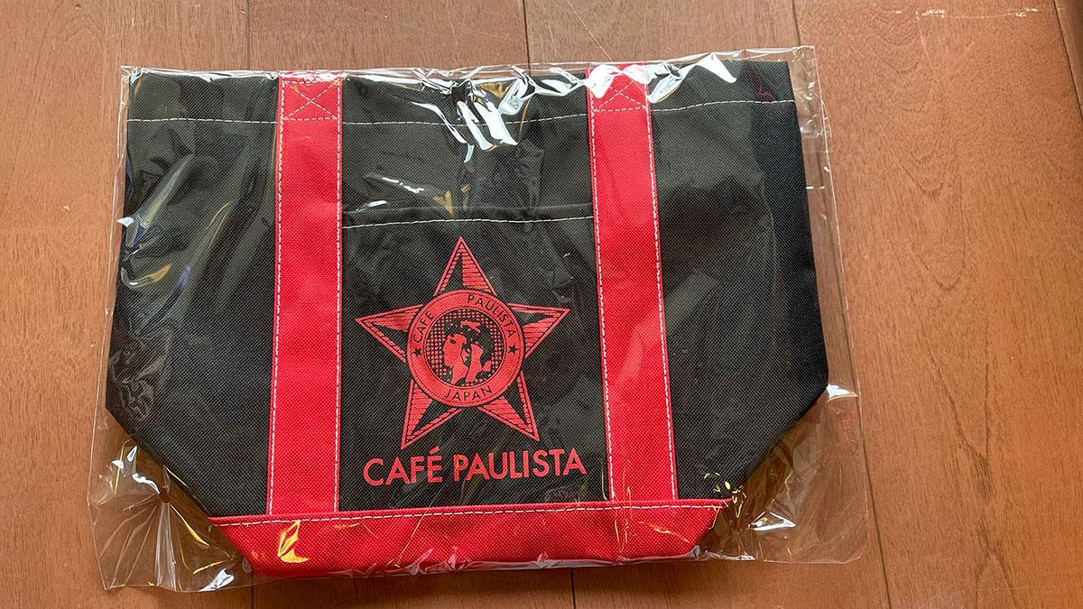 カフェーパウリスタのトートバッグ