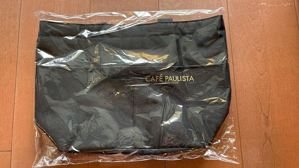 銀座カフェーパウリスタのトートバッグ