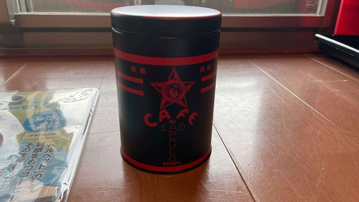 森のコーヒー(銀座カフェーパウリスタ)のコーヒー缶